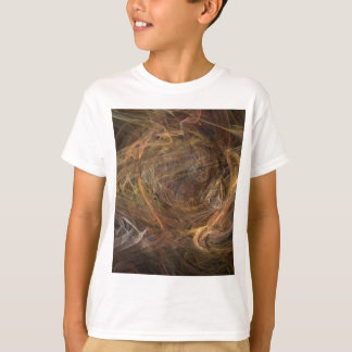 Brown Sublime Abstract Design T-Shirt