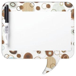Brown Suds Dry Erase Board