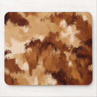 Brown Suede Mouse Pad