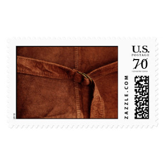 Brown Suede With Strap And Buckle – Large Postage