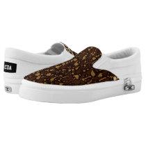 Brown Sugar Animal Print Slip-On Sneakers