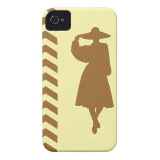 Brown Sugar Cream Neutral Chevrons Fashion iPhone 4 Covers