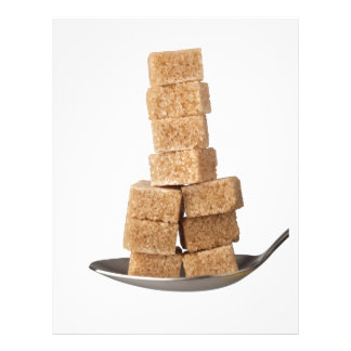 Brown sugar cubes letterhead