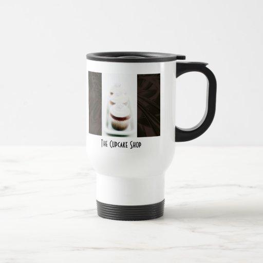 Brown Swirl Cupcake Business Products Travel Mug