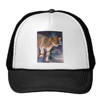 Brown Swiss Calf Hat
