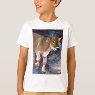 Brown Swiss Calf Kids Tshirt