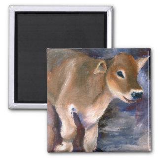 Brown Swiss Calf Magnet