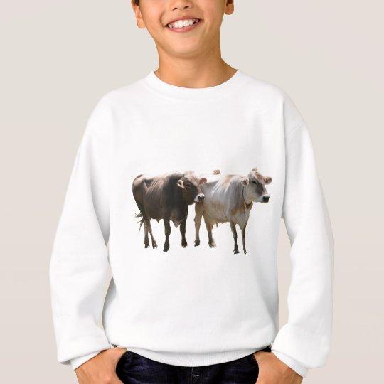 Brown Swiss Cows Sweatshirt