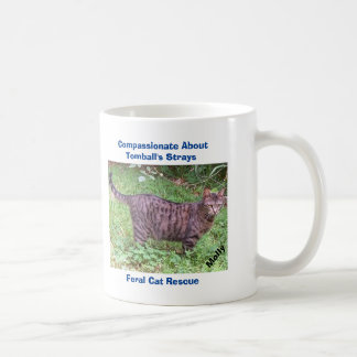 Brown Tabby Cat Classic White Coffee Mug