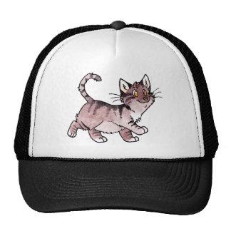 Brown Tabby Kitty Trucker Hat