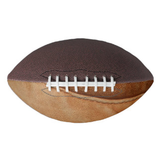 Brown Tan Leather Look Texture Football