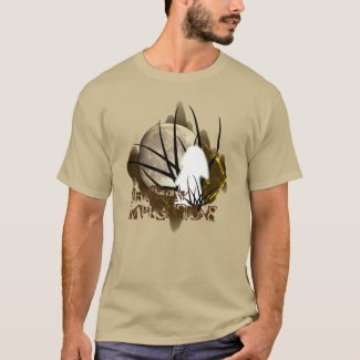 Brown Tan Moon Ghostly Impressions T-Shirt