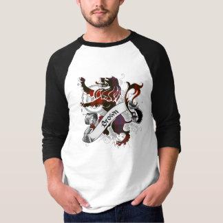 Brown Tartan Lion T-Shirt