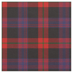 Brown Tartan Print Fabric