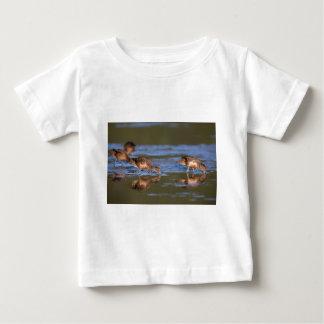 Brown teal (Pateke) ducks on Great Barrier Island Baby T-Shirt