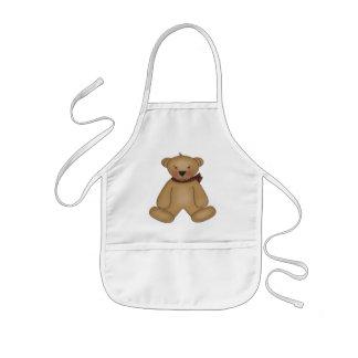Brown Teddy Bear Kids' Apron
