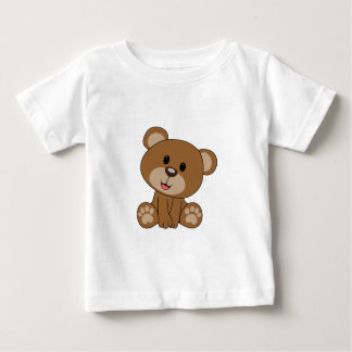 Brown Teddy Bear Baby T-Shirt