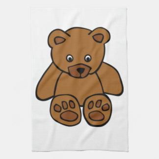 Brown Teddy Bear Kitchen Towels