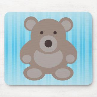 Brown Teddy Bear Mousepad