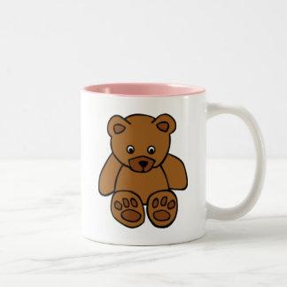 Brown Teddy Bear Coffee Mugs
