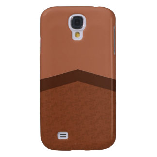 Brown texture point samsung galaxy s4 cover