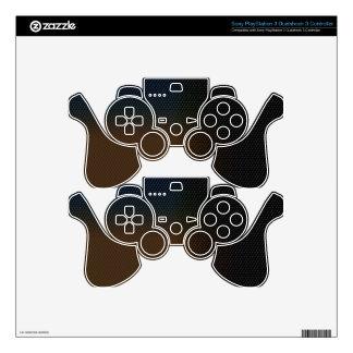 Brown Texture PS3 Controller Decals
