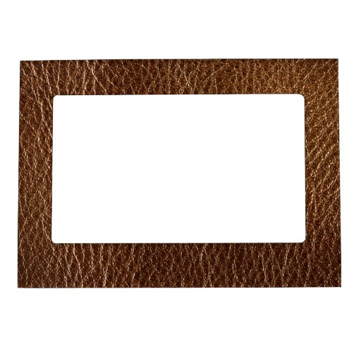brown textured pattern.PNG Picture Frame Magnets
