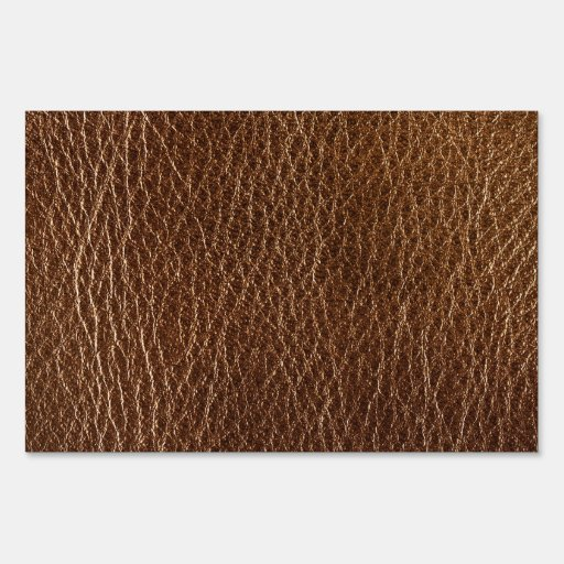 brown textured pattern.PNG Yard Sign