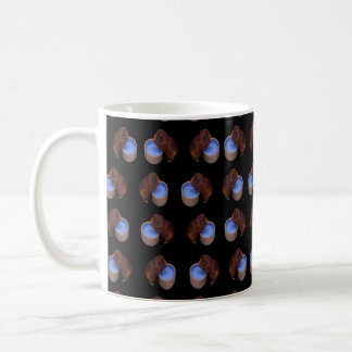 Brown Thirsty Guinea Pigs, Coffee Mug