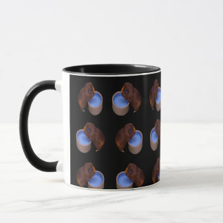 Brown Thirsty Guinea Pigs, Mug