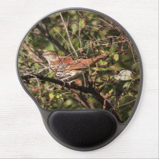 Brown Thrasher Gel Mousepads