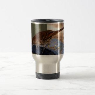 Brown Thrasher (Georgia) Travel Mug