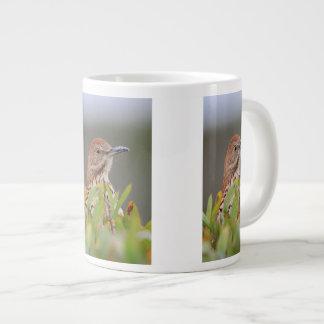 Brown Thrasher Large Coffee Mug
