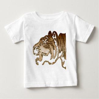 Brown Tiger Baby T-Shirt