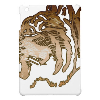 Brown Tiger Cover For The iPad Mini