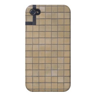 Brown Tile Design 01 iPhone 4 Covers
