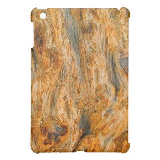 Brown Tones Natural Tree Bark Pern iPad Mini Cover