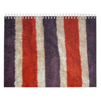 Brown Towel Wall Calendars