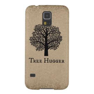 Brown Tree Hugger Galaxy S5 Case