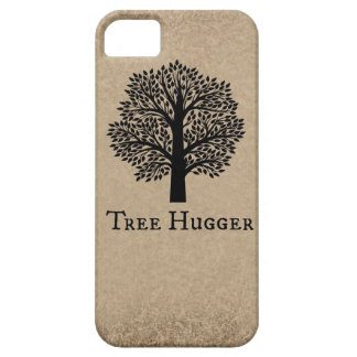 Brown Tree Hugger iPhone SE/5/5s Case
