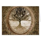 Brown Tree of Life Pattern Card (<em>$7.35</em>)