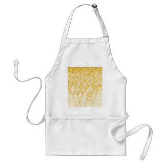 brown trees adult apron