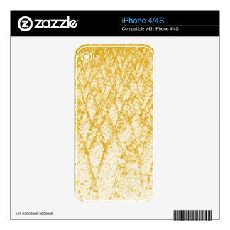 brown trees decal for the iPhone 4