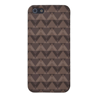 Brown Triangle iPhone SE/5/5s Cover