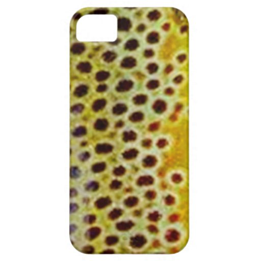 Brown Trout by PatternWear© iPhone 5 Case