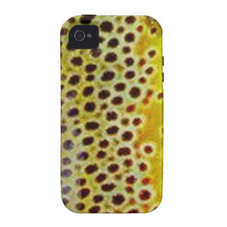 Brown Trout by PatternWear© iPhone 4/4S Case