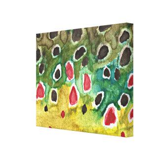 Brown Trout Canvas Prints