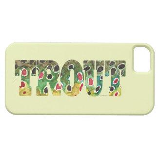 Brown Trout Design iPhone SE/5/5s Case