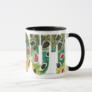 Brown Trout Design Mug