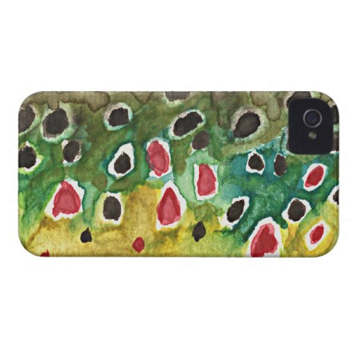 Brown Trout Fish iPhone 4 Covers